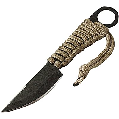 Divers CTK1802275HC Couteau à Lame Fixe Mixte Adulte, Gris