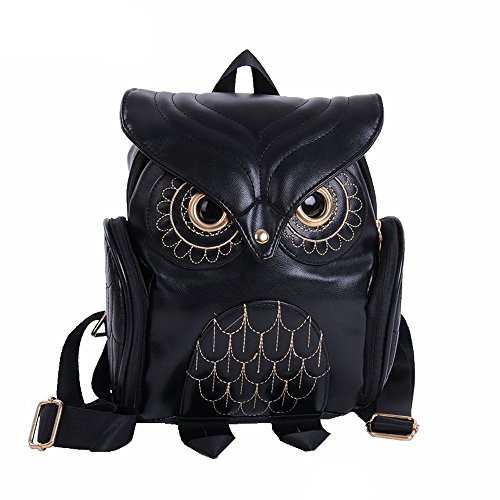 Fashion Cute Owl Backpack Women Cartoon School Bags For Teenagers Girls 2018 Duseedik
