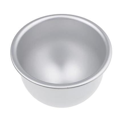 Torta Vasca Da Bagno.Magideal Stampo Palla Da Bagno Alluminio Fai Da Te In Metallo