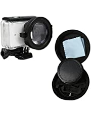 Deylaying 58mm Close-Up Lens 16X Magnification for Xiaomi Yi 2 4K Action Camera, HD Macro Filter Lens 16X Magnification Accessories