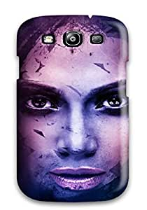 Forever Collectibles Female Celebrity Hard Snap-on Galaxy S3 Case by lolosakes