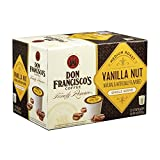 Don Francisco's Vanilla Nut, Premium 100% Arabica, Flavored, Medium-Roast, Single-Serve Pods for Keurig, 12-Count, Family Reserve For Sale