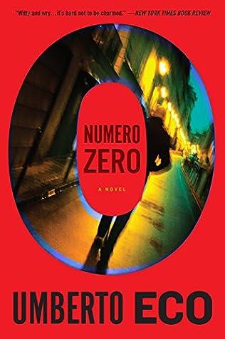 book cover of Numero Zero