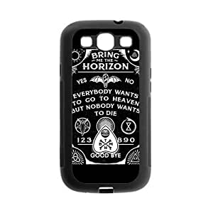 TPU Rubber Case Compatible with Samsung Galaxy S III / S3 i9300 Covers [BMTH Bring Me to the Horizon] by mcsharks