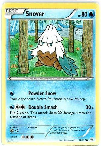 POKEMON CARD XY BREAK THROUGH SNOVER 39//162
