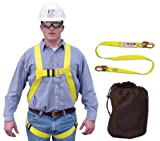 Compliance Full Body Harness/Lanyard Kit by French Creek