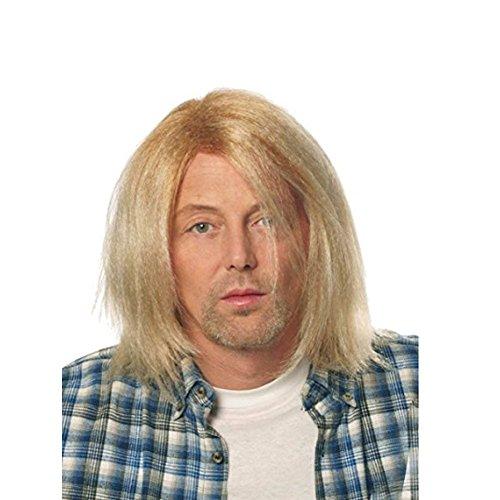 MyPartyShirt Kurt Cobain Grunge Blonde Wig ()