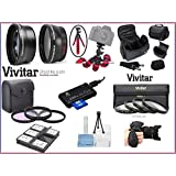 NEW Pro Hi Def Super Deluxe Accessory Pack Bundle For Panasonic Lumix DC-GX9 (58mm Compatible)