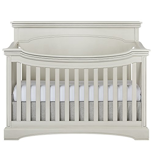 Evolur Windsor Flat Top Collection - Antique White Crib