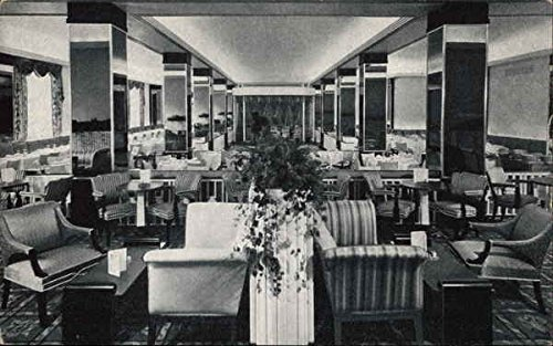 The Hotel Raleigh - Pall Mall Room and Cocktail Lounge Washington, District Of Columbia Original Vintage - Malls Raleigh