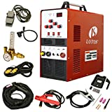 TIG Welder - LOTOS TIG200 200A AC/DC Aluminum Tig/Stick Welder Square Wave Inverter with Pedal and Mask