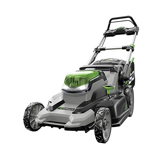 EGO Power+ LM2000-S 20-Inch 56-Volt Lithium-Ion Cordless Walk Behind Lawn Mower (Battery and Charger Not Included) 1 Compatible with all EGO power+ arc lithium batteries 20 in. cut capacity Weather-resistant construction