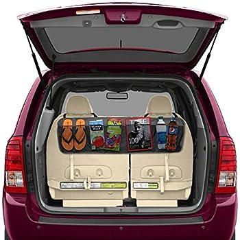Amazon backseattrunk organizer by lebogner 5 pocket auto backseattrunk organizer by lebogner 5 pocket auto interior perfect car organizer solutioingenieria Choice Image