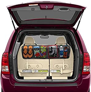 backseat trunk organizer by lebogner 5 pocket auto interior perfect car organizer trunk. Black Bedroom Furniture Sets. Home Design Ideas