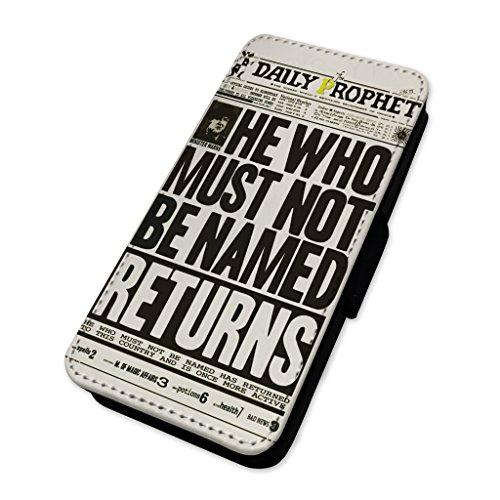 Daily Prophet Wizard giornale–Custodia ad aletta in pelle copertura di carta Apple Iphone 5/5s/SE