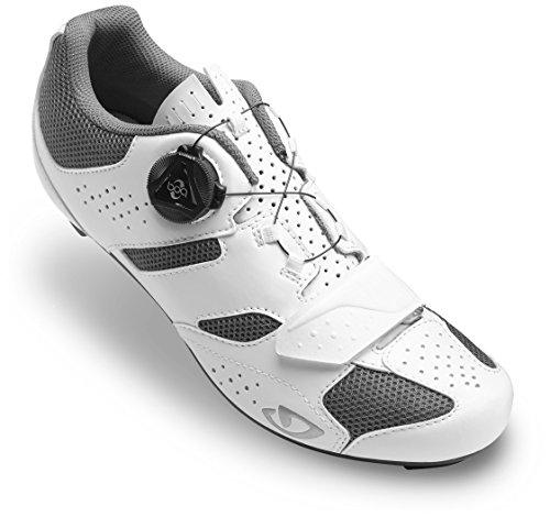 Giro Savix Cycling Shoes - Women's White/Titanium - Cycling Women Giro Shoes