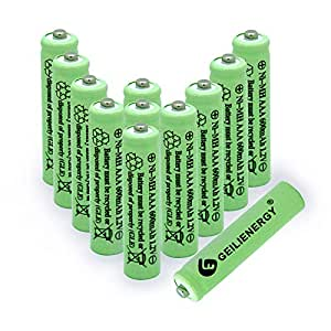 Amazon.com: GEILIENERGY Solar Light Batteries AAA Triple A