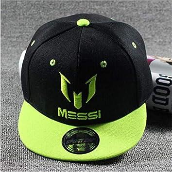 WDBUN Gorra de Beisbol Messi Bordado algodón Snapback Gorras Hip ...