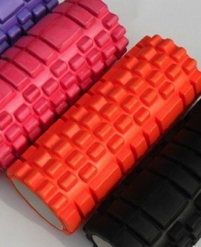 Tnp Accessories Rodillo Espuma Yoga Red Beast Rodillo para Masaje Ejercicio y Fitness Pilates (Naranja)