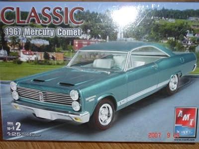 Classic 1967 Mercury Comet Model Kit - Amt - Ertl