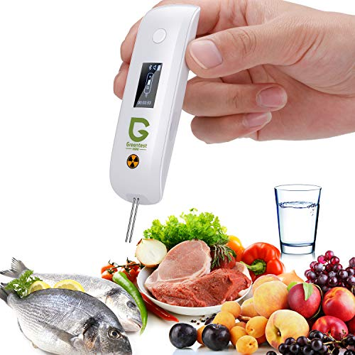 Greentest Mini Portable Digital Nitrate Fruit Tester Geigor Counter Water TDS Meter Tester for Fruit,Vegetable,Meat,Fish,Water