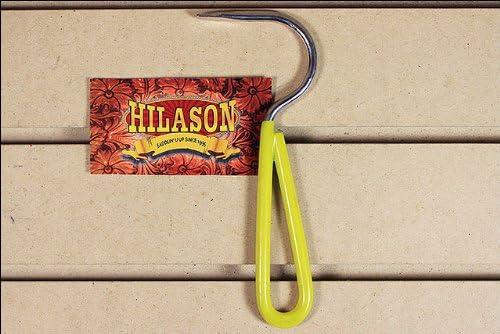 HILASON Horse TACK ZINC Plated HOOF Pick with Vinyl Coated Handle Yellow