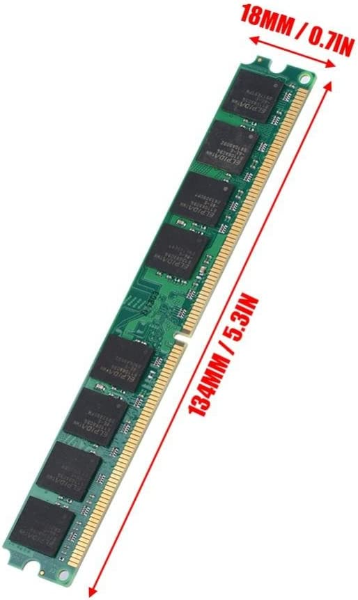PARTS-QUICK Brand 2GB Memory for EVGA nForce 780i SLI FTW Motherboard DDR2 PC2-6400 800MHz DIMM Non-ECC RAM Upgrade