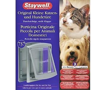 Karlie 280EFS 737, perro y gato puerta - Gray, para perros y gatos: Amazon.es: Productos para mascotas
