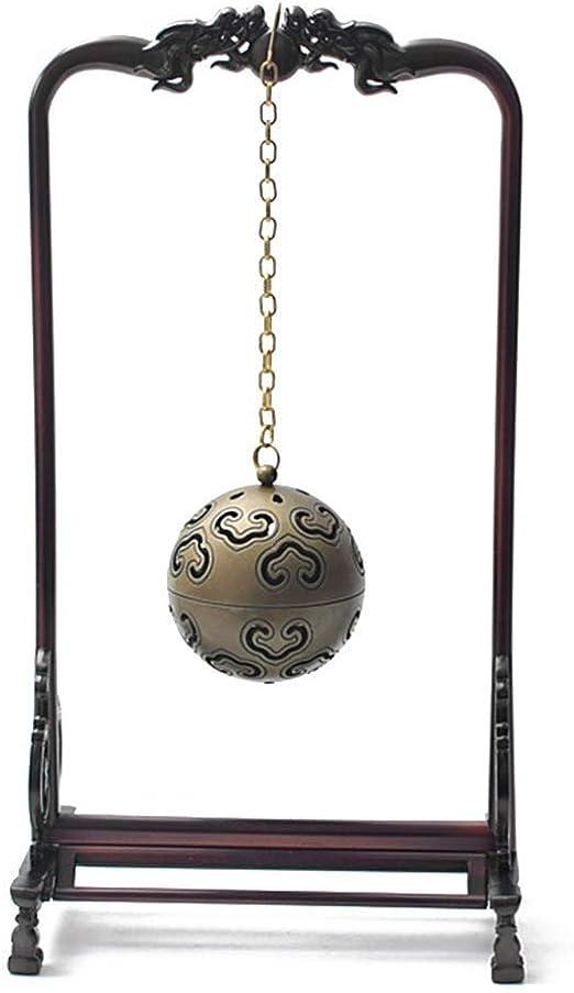 Quemador Quemador de incienso XWQBH19067820 Colgante de bronce ...