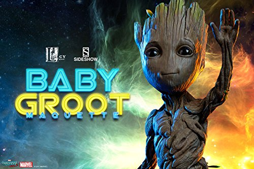 Sideshow Guardians Of The Galaxy Vol 2 Baby Groot Marquette Figure