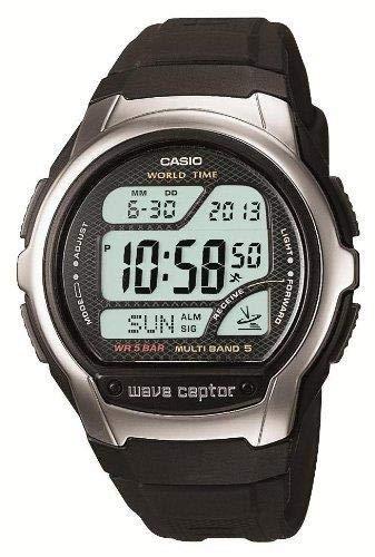 限定 カシオ CASIO 腕時計 ウェーブセプター 電波時計 WV-58J-1AJ C111MQ2HGD   B07QFV2MLP