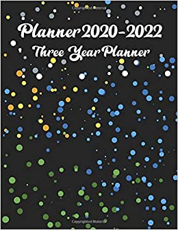 Amazon.com: 2020-2022 Three Year Planner: Monthly ...
