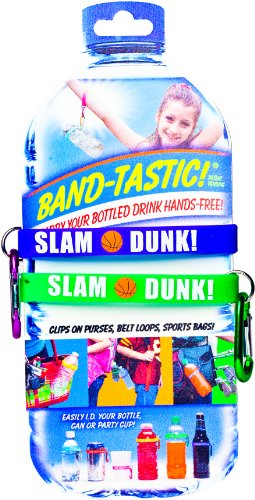 Slam Dunk Collection (Smart Products SPBK2 Band-Tastic Sports Collection Basketball Slam Dunk Bands, Purple and Green)