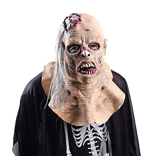 Horror Long Tongue Zombie Mask Halloween Decoration Scary Realistic Masks Decoracion De Halloween Mask Halloween Latex Terror