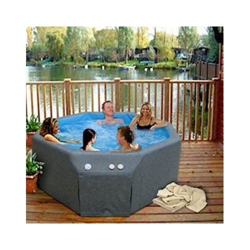 Portable Soft Sided Insulated Hot Tub Therapy Spa