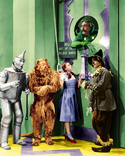 Wizard Of Oz Door - Old Tin Sign The Wizards Door Garland, Judy Wizard Of Oz Celebrity Hollywood Stars Of The Past