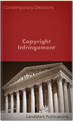Copyright Infringement (Intellectual Property Law Series)