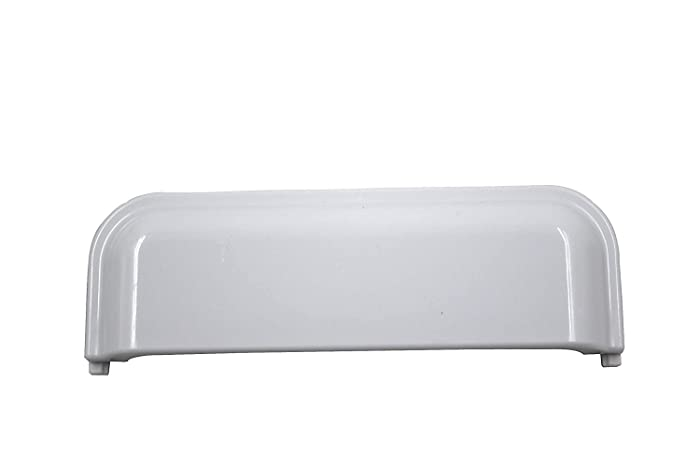 W10861225 W10714516 Unbreakable Door Handle For Compatible forWhirlpool, Kenmore, Amana, Crosley, Maytag, Roper -replacement parts (Pack of 1)
