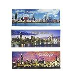 Chicago Skyline Souvenir Refrigerator Magnets