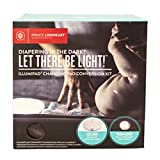 Changing Table Conversion Kit Prince Lionheart IllumiPAD Changing Pad Conversion Kit, Grey