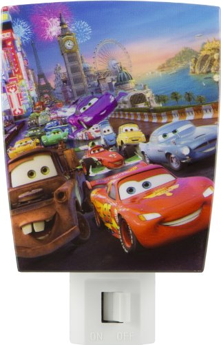 Disney/Pixar Wrap Shade Incandescent Night Light (Pixar's Cars)