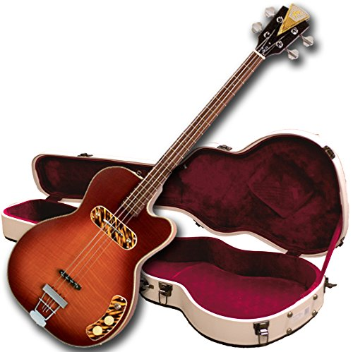 (Kay Reissue K162VHS Pro Electric Bass Guitar - Honey Sunburst)
