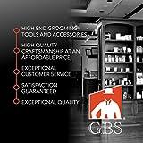 "GBS Black Ceramic 3"" Smooth Shave Bowl - Fits 3 Oz"