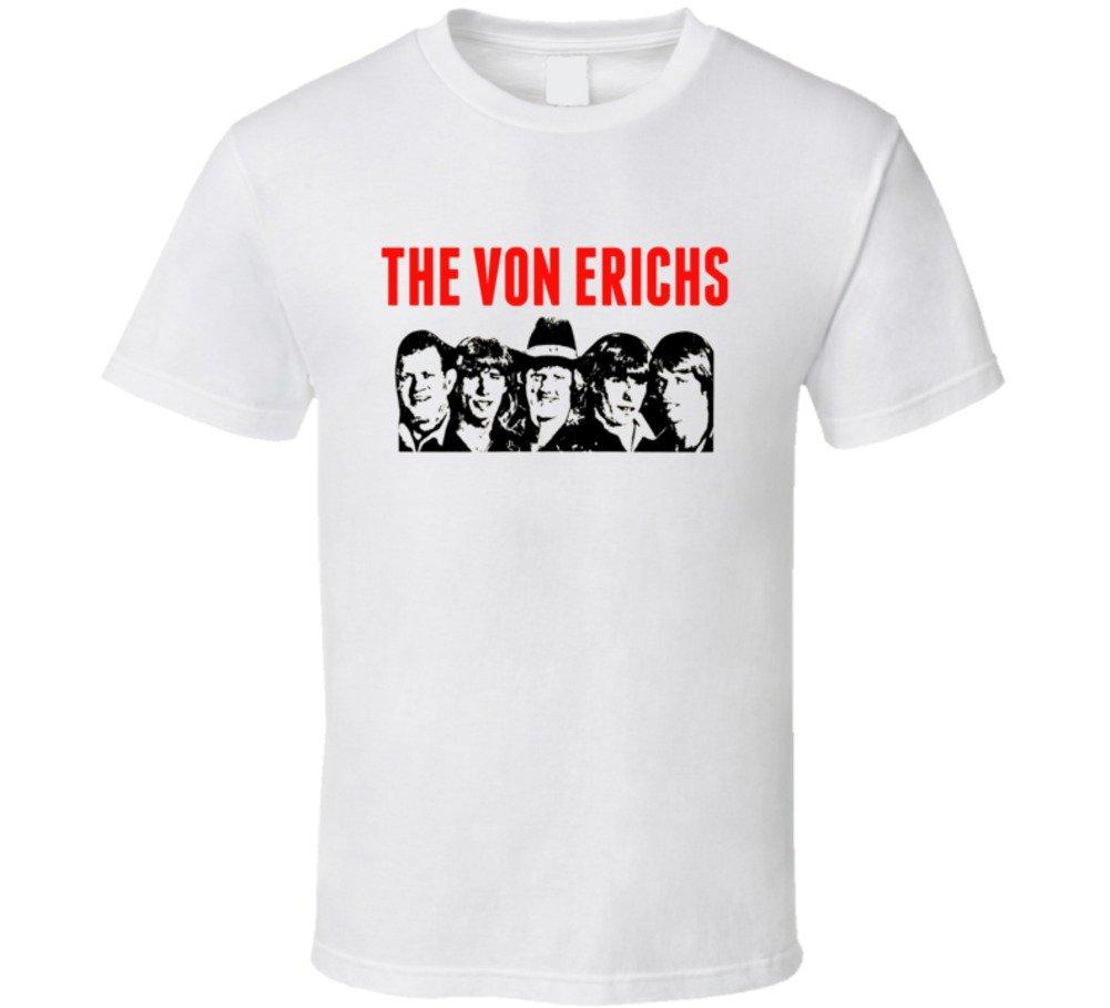 The Von Erich Family Retro Wrestling T Shirt XL White