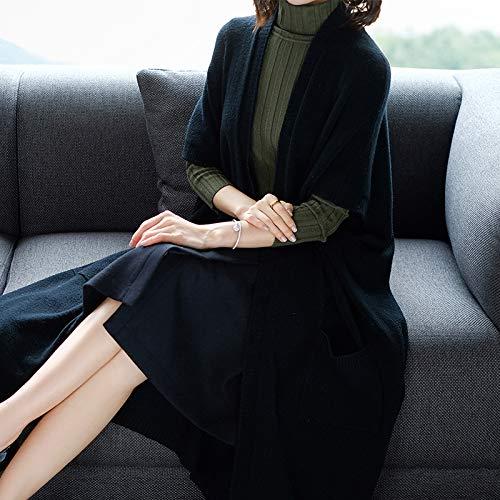 Veste Pour Femme Femme Chaude Lavée Black Et D'automne Liuxc Femmes Confortable Vêtements Décontractée D'hiver RwxRZ