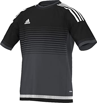 23e6add3d Amazon.com   Adidas Campeon 15 Youth Soccer Jersey L Black-Night ...