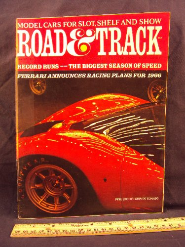 1966 66 March ROAD and TRACK Magazine, Volume 17 Number # 7 (Features: Road Test On Sunbeam Alpine Series V & Plymouth Barracuda S + U.S. Amateur Championships and Nassau Speed Week's) (Alpine Series Sunbeam)