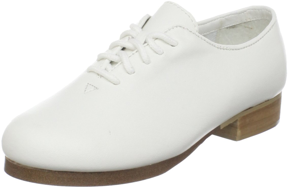 Dance Class PCM400 clogging oxford (Toddler/Little Kid/Big Kid),White,12.5 M US Little Kid
