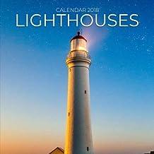 Lighthouses Calendar 2018: Lighthouse Photography, 8.5 x 8.5, 12 Months Mini Wall Calendar, (Office Gift Idea)