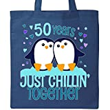Inktastic - Fifty Years Just Chillin Together- cute Tote Bag Royal Blue 2e39c